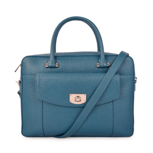 Top Layer OL Handle Business Leather Bag 2019