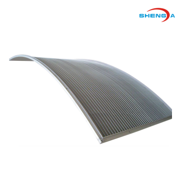 Wedge Wire Curve Screen Filter Element