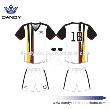 Sublimated Stripes Soccer Jerseys te keap