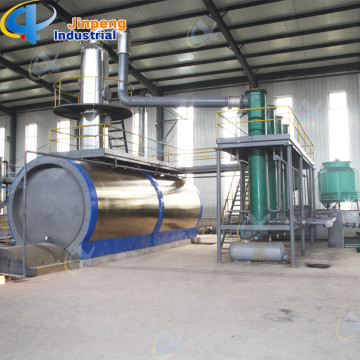 Used Oil or Waste Engine Oil Distillation Plant