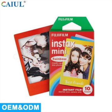 Universal Polaroid mini rainbow film