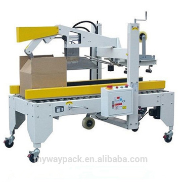 Automatic carton box tape sealing sealer machine