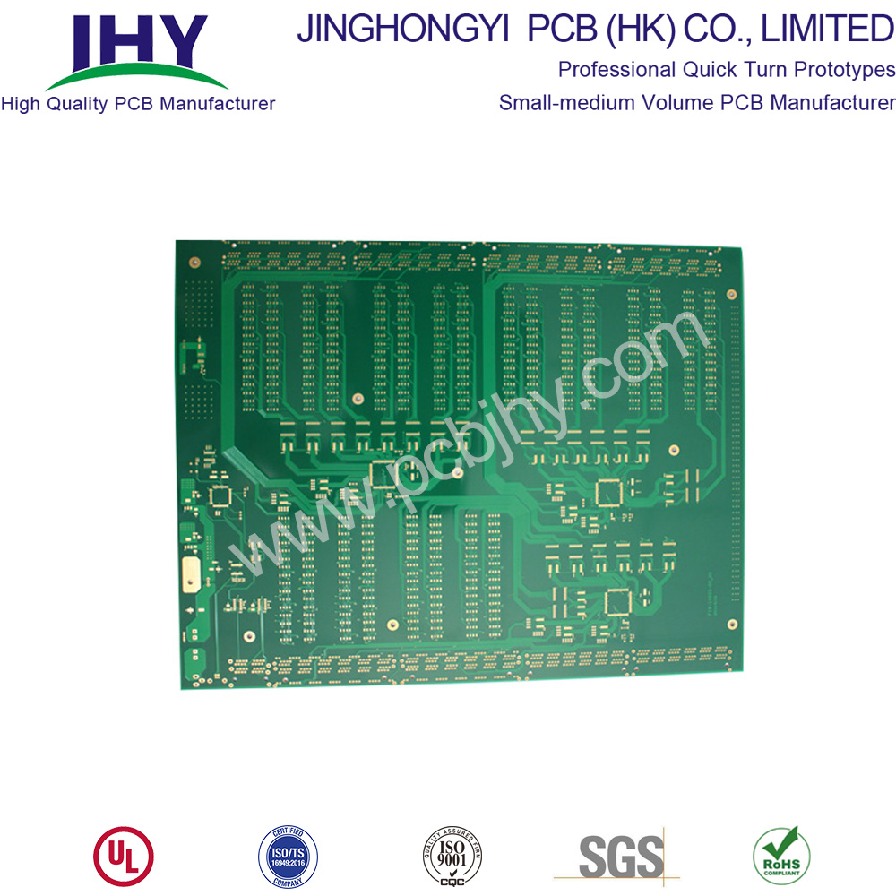 Large size 1.6mm 1oz ENIG 4 Layer PCB