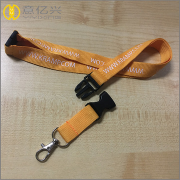 customized thick jacquard knitted cotton lanyard