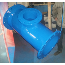 Ductile Iron Flanged Double Socket Tee