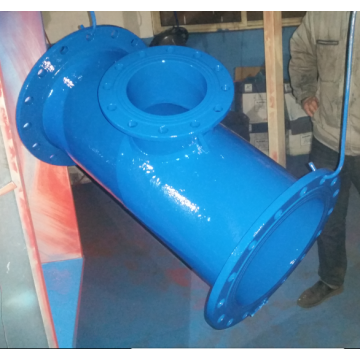 Ductile Iron Flanged Tee elbow
