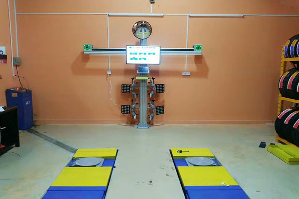 3D Wheel Alignment Imagies