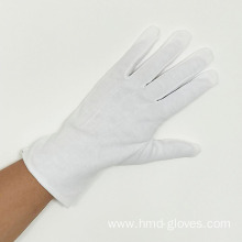 OEM Comfortable White Cotton Double Palm Glove