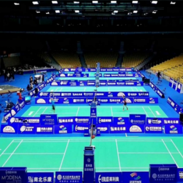 BWF Approved Mobile Badminton Court Flooring