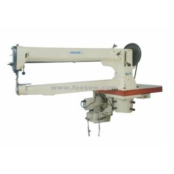 Single Needle Long Arm Cylinder Bed Unison Feed Lockstitch Machine