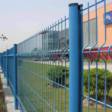 Powder Coated Welded Mesh Fencing