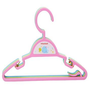 Plastic Infant Accessory Clothes Rack Coat Hanger Set
