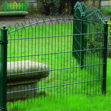 Giant Green Ornamental Fence Prestige Fence