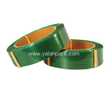 Supply for China Pet Strapping, Pet Packing Strap, Thickness Packing Material Pet Strap, Green Pet Strapping Supplier Pet plastic machine hand banding strapping roll export to New Caledonia Importers