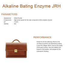 China for China Leather Enzymes,Enzymes For Leather,Enzymes Used For Leather,Enzymes For Leather Industry,Lipase For Leather Supplier Alkaline Bating Enzyme JRH export to Syrian Arab Republic Exporter