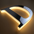 Metal LED Illuminated Backlit Letters Sign