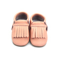 Soft Leather Slip-on Baby Moccasins Shoes