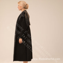 Women Spain Merino Shearling Overcoat