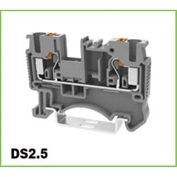 0.25mm² DIN Rail Spring Push in Terminal Blocks