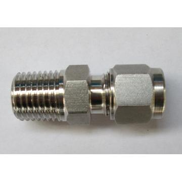 Metal Tube Straight Male NPT Thread Ferrule Accessory