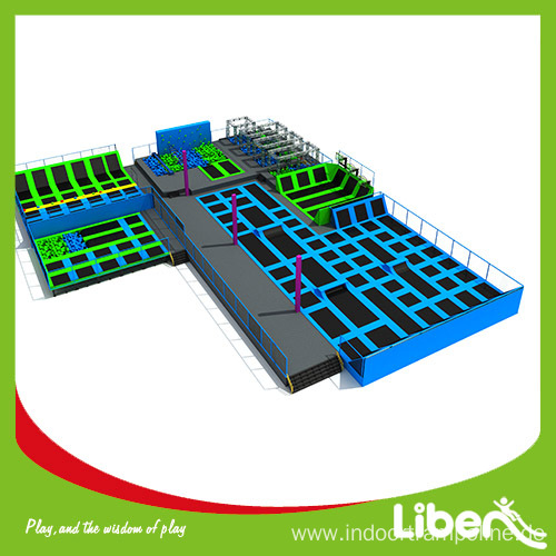 Indoor industrial trampoline park for sale