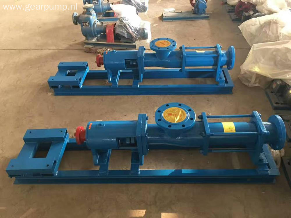 G type single stage self-priming sewage lift screw pump