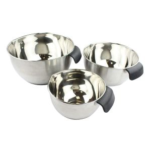 Stainless Steel Mixing Bowl Set with Handles