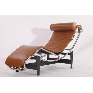 Le Corbusier Leather LC4 Chaise Lounge Chair Replica