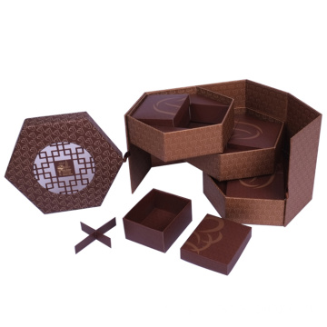 Custom Made Chocolate Cake Packaging Boxes With Insert