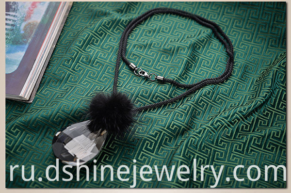 Long Choker Necklace