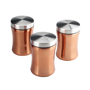 Eco-friendly Practical Stainless Steel Canister Jar