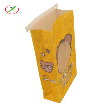 pla environmental popcorn packing bag