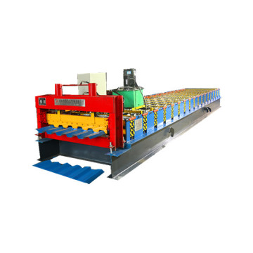 trapezoidal cold roll forming making machine