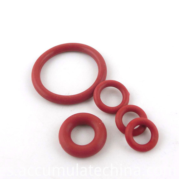 Rubber O Rings Red