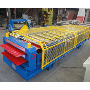Colorful Metal Double Deck Roof Roll Forming Machine