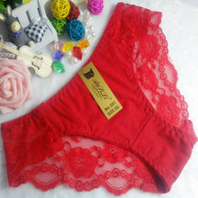 OEM wholesale new style red hipster sexy China cotton fancy underwear 501