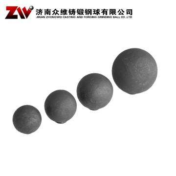 Good wear resistance Mineral Processing Forged Grinding Ball Dia 25-125mm