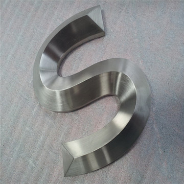 3D Stainless Steel Channel Letters Signs