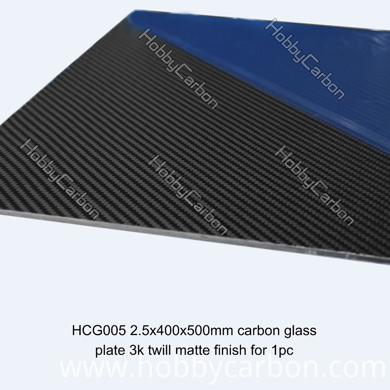 customized cnc carbon glass board