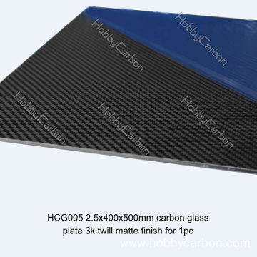 Customized Service Hardness Glass Carbon Board