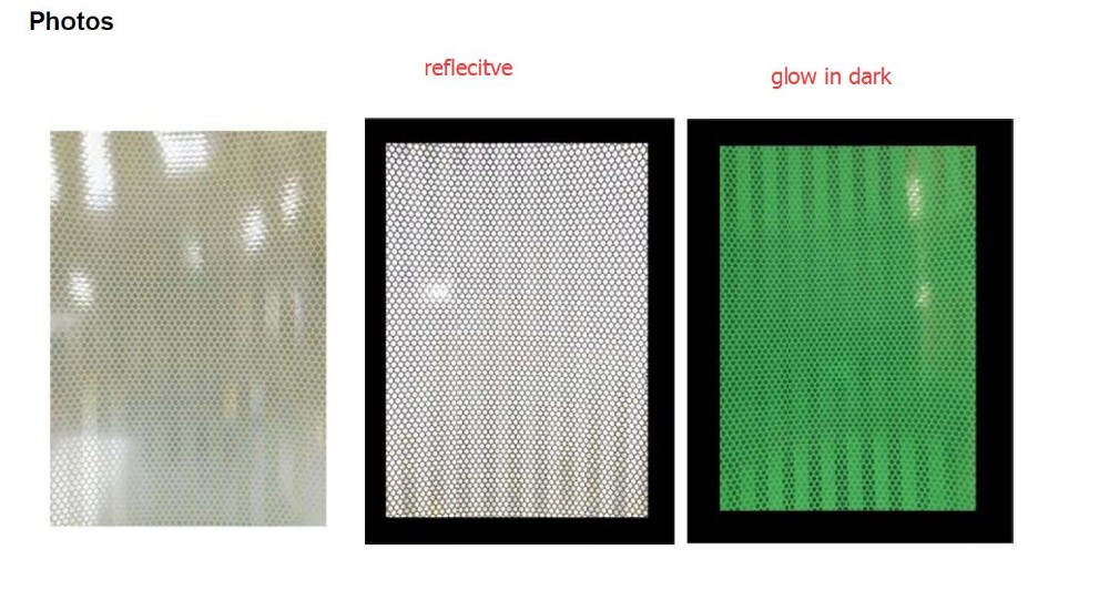 Prismatic reflective luminous sheeting