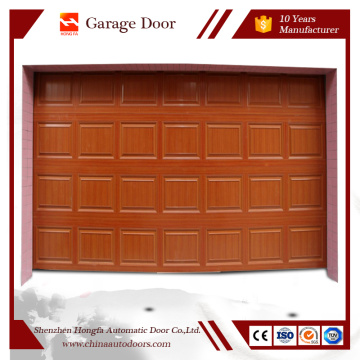 House Remoter Control Residential Sectional Garage Door