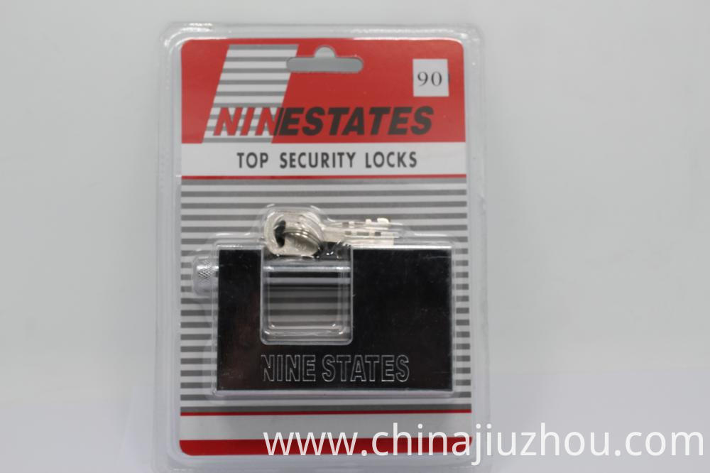 Horizontal Open Anti-Shear Locks Rectangular Lock