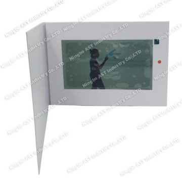 10.1 Video Brochure Module, MP4 Player Brochure,