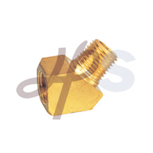 Brass 45 degree FxM elbow
