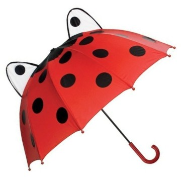 3D Pop-Up kids ladybug umbrella