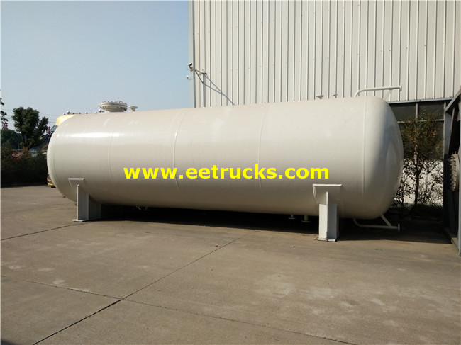 Horizontal 25ton LPG Storage Tanks
