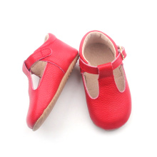 Red Fashion Princess Christmas Dress Baby Shoes Girls