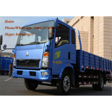 Customized for Cargo Truck 4X2 Light Truck 8 Ton Cargo Truck supply to Uganda Factories
