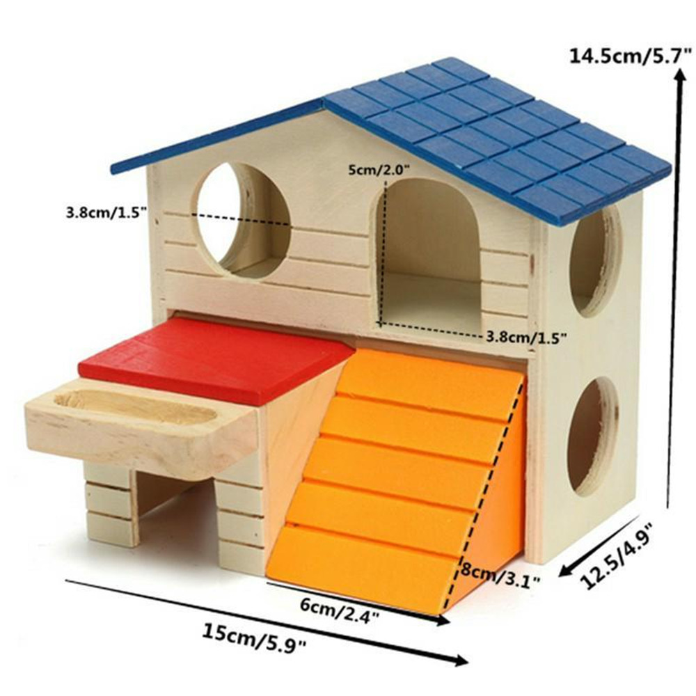environmental protection non-toxic wooden pet house